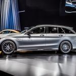 2015 Mercedes-AMG C63 Wagon.  2014 Paris Motor show