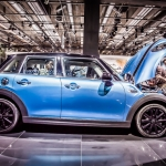 2015 Mini 5 Door, Paris Motor Show