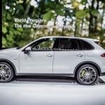 Paris 2014: Refreshed Porsche Cayenne