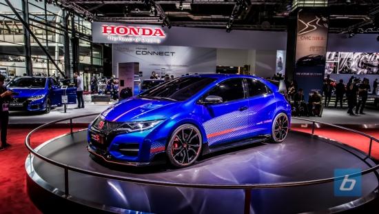 Honda Civic Type R Concept Paris Motor Show