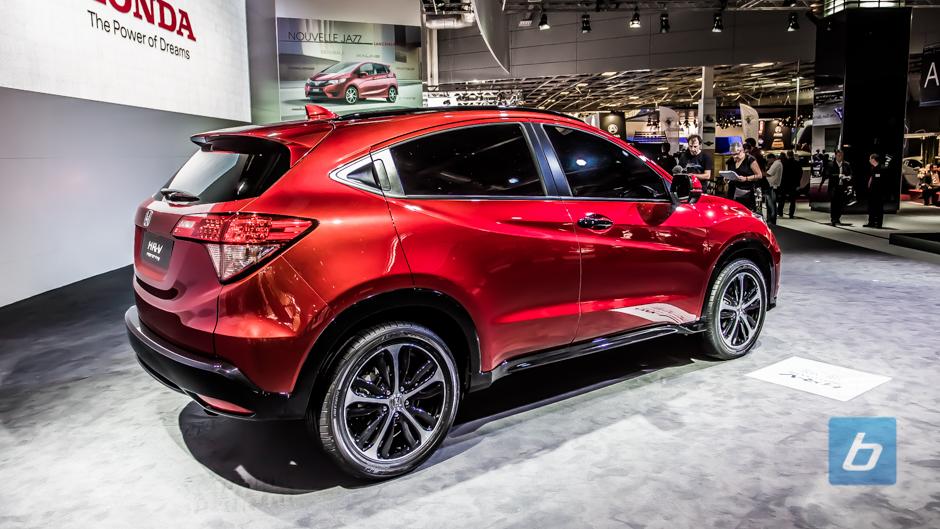 Honda hrv prototype paris 5