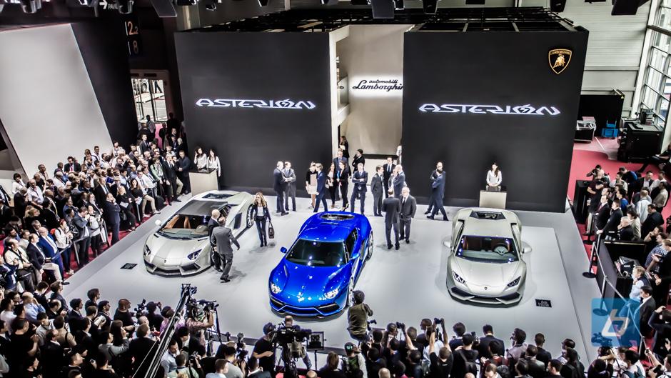Lamborghini Asterion Hybrid Concept Paris Motor Show