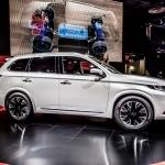 Mitsubishi Outlander PHEV Concept S, Paris Motor Show