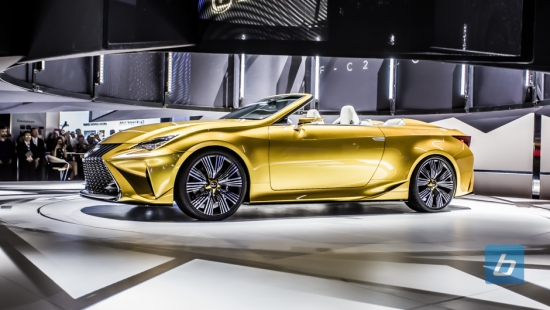 Lexus Unveils The LF-C2 Concept, Preview of RC Convertible?