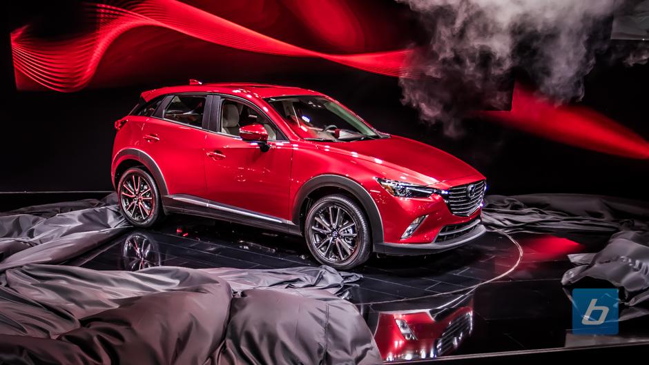 Mazda Cx 3 >> Mazda Unveils All-New Compact Crossover Mazda CX-3