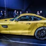 2015 Mercedes-AMG GTS.  LA Auto Show 2014