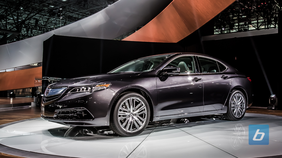 Acura Unveils The 2015 TLX in New York