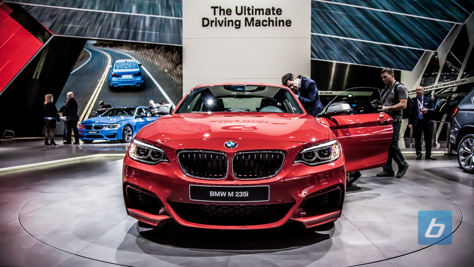 BMW Shows Off All-New 2015 M235i in Detroit