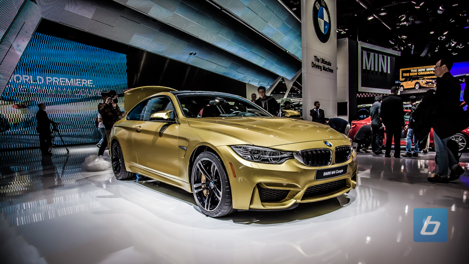 BMW M3 and M4 Make World Debut in Detroit
