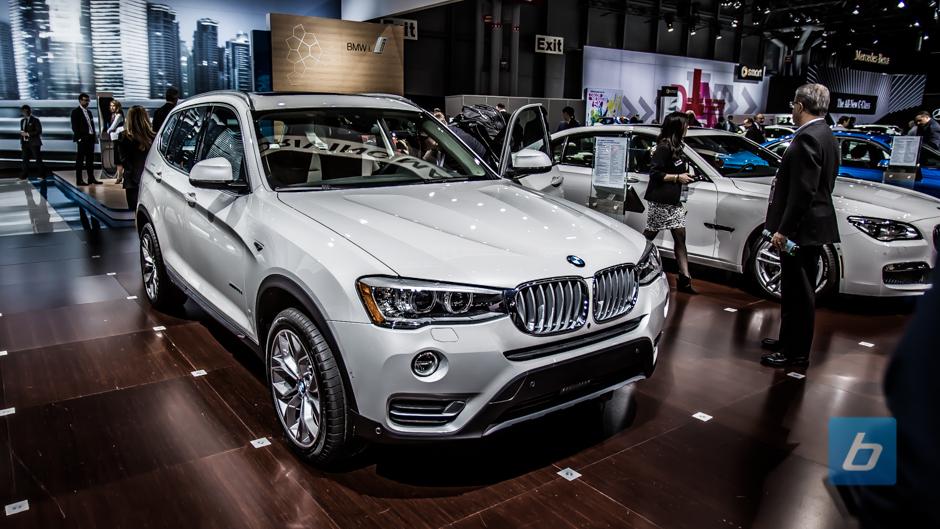 2015 BMW X3 NYIAS