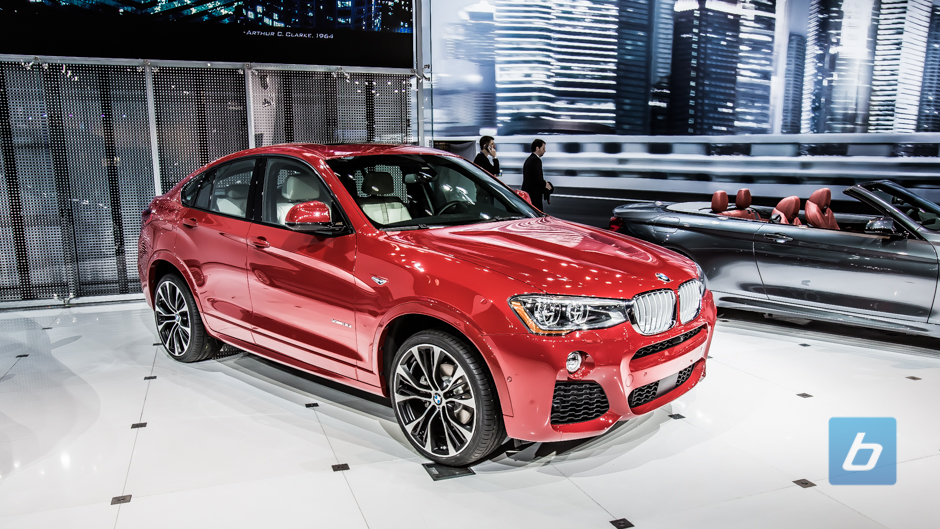 BMW X4 and 4 series Grand Coupe