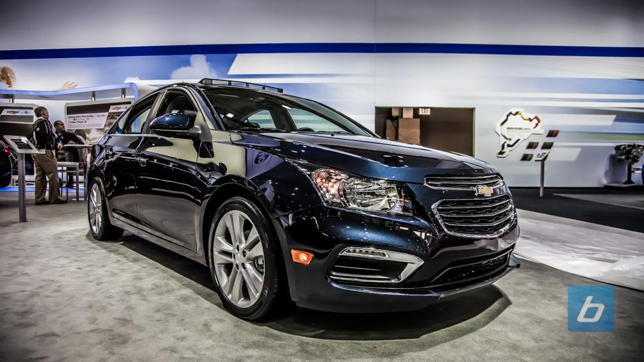 2015 Chevrolet Cruze NYIAS