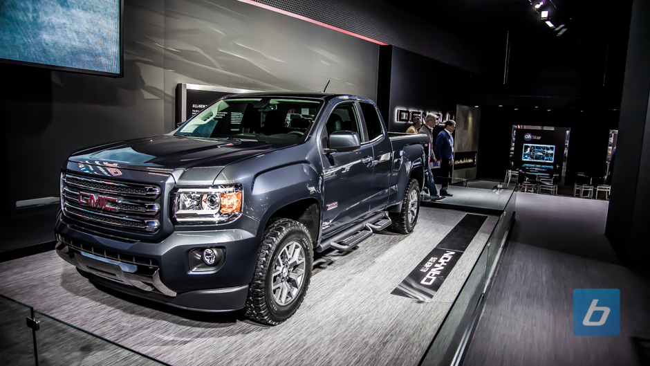 2015 GMC Canyon Arrives at NAIAS