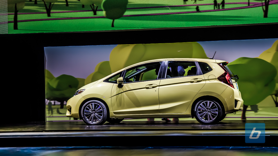 Honda Reveals All-new 2015 Fit at NAIAS in Detroit