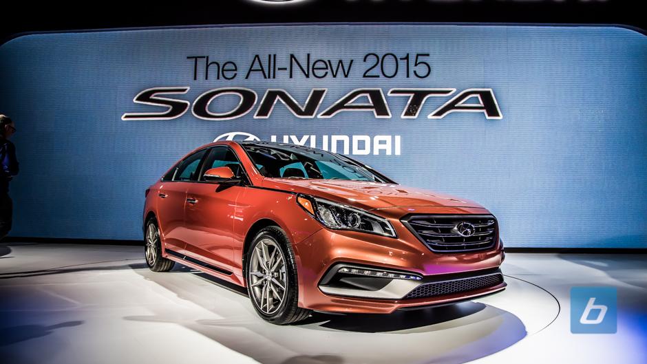 New 2015 Hyundai Sonata Rolls Into NY Auto Show