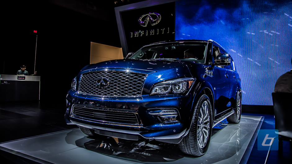 Infiniti Refreshes The QX80, Adds New Limited Trim