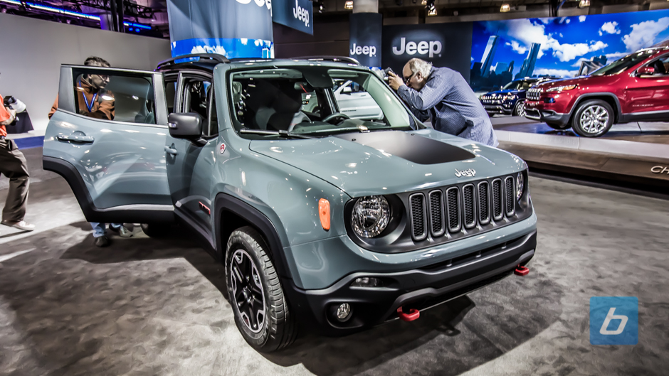 2015 Jeep Renegade Makes North American Debut