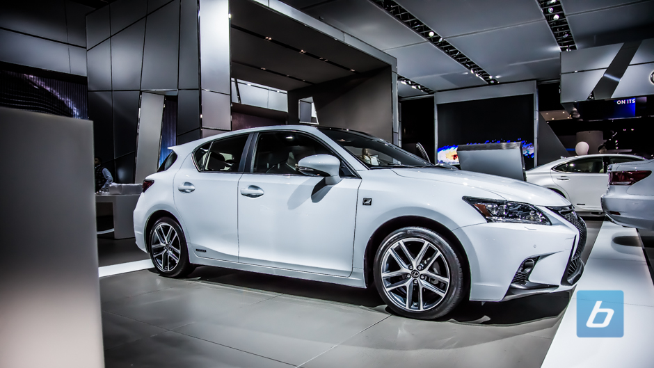 Facelifted 2014 Lexus CT 200h