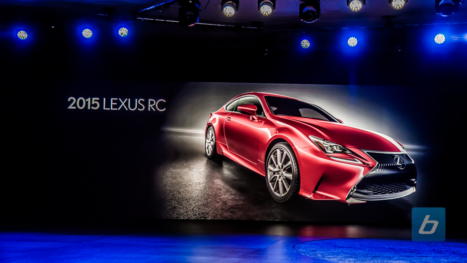 Back to Post - 2015 Lexus RC F Coupe Debuts in Motor City