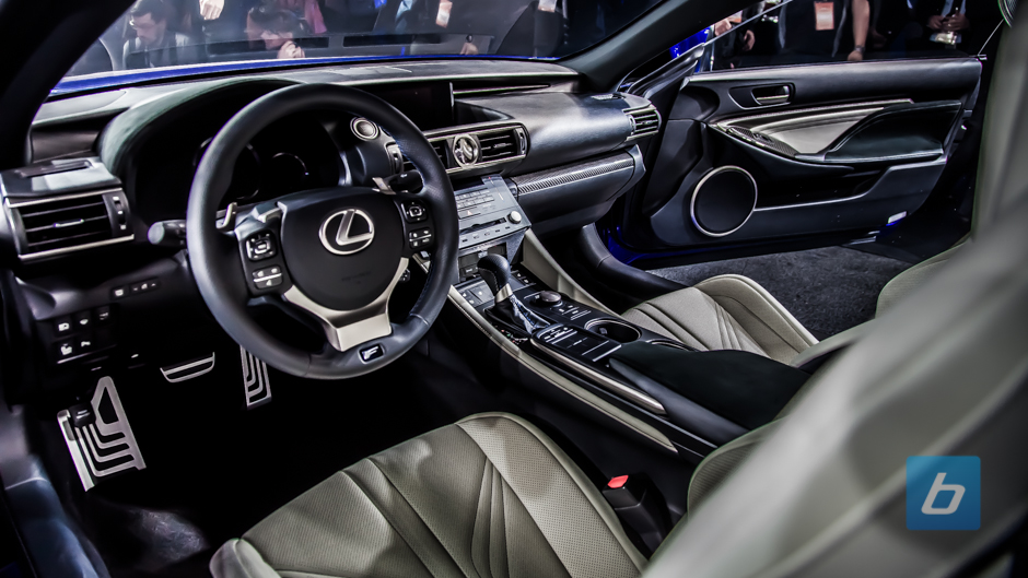 2015 Lexus RC F Coupe Debuts in Motor City » Image 35 of 40