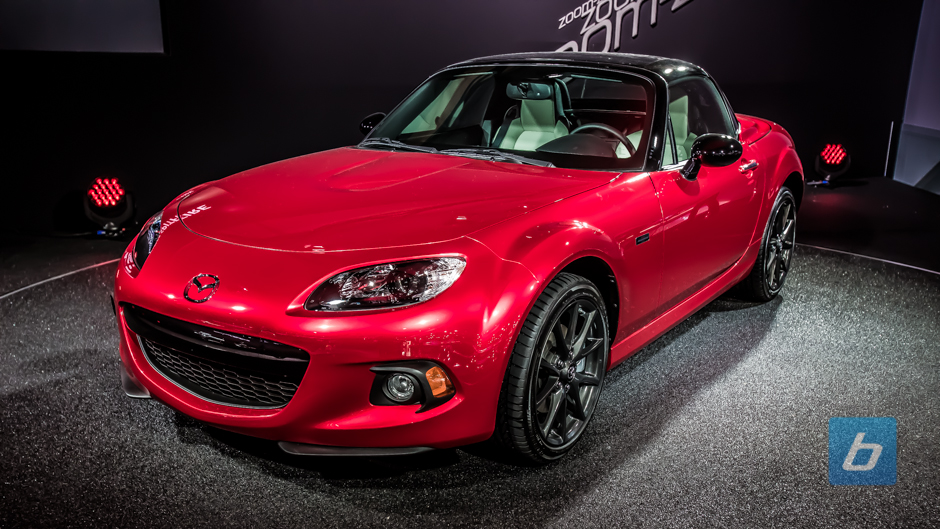Mazda Celebrates Miata's 25th Birthday With Anniversary Edition