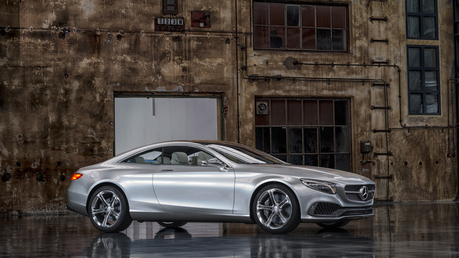 The Stunning Mercedes-Benz Concept S-Class Coupe