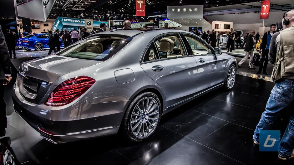 2015 mercedes benz s600 naias 2014 3 for Mercedes benz s600 2015