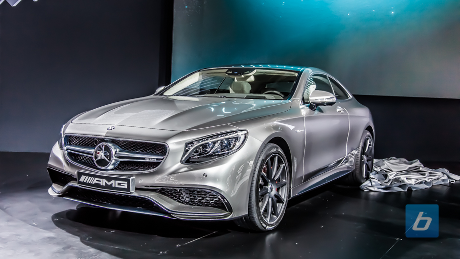 2015 mercedes benz s63 amg coupe nyias 1 for Mercedes benz s63 amg coupe