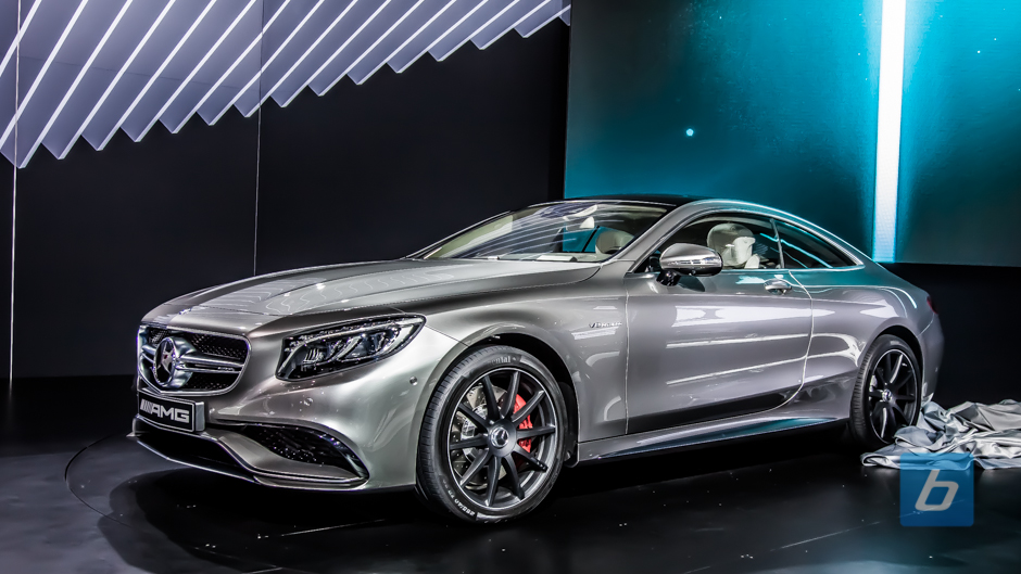 New York: 2015 Mercedes-Benz S63 AMG Coupe Unveiled
