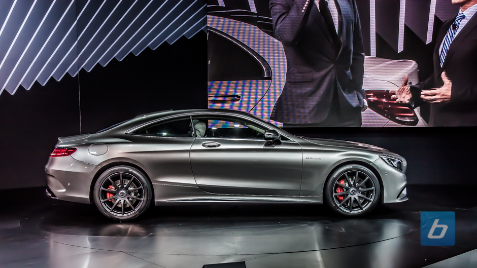 2015 mercedes benz s63 amg coupe nyias 6 for Mercedes benz s63 amg coupe