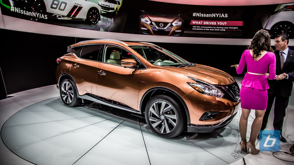 Nissan Unveils the Next Gen 2015 Murano