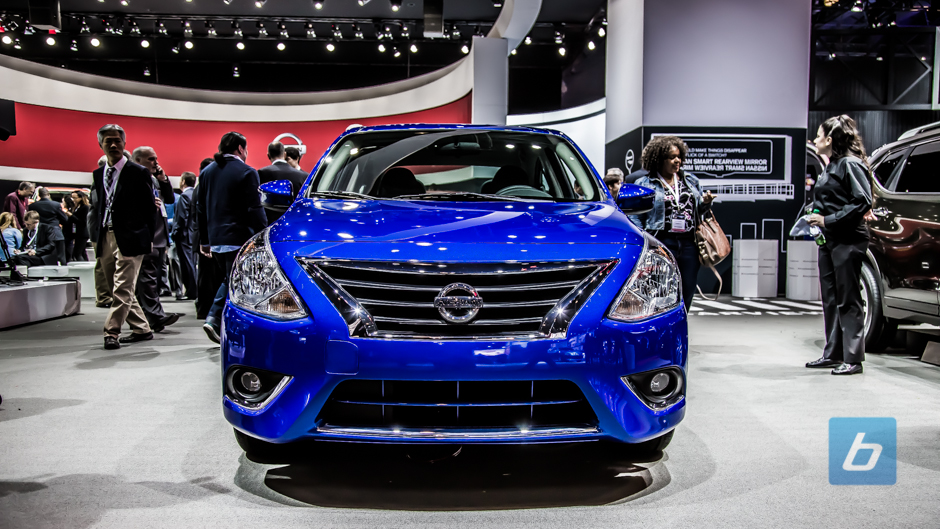 Nissan Versa Gets A Facelift