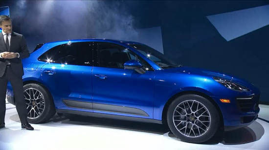 2015 Porsche Macan Revealed, Starts at $50,895