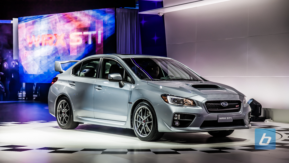 2015 Subaru WRX STI Officially Breaks Cover