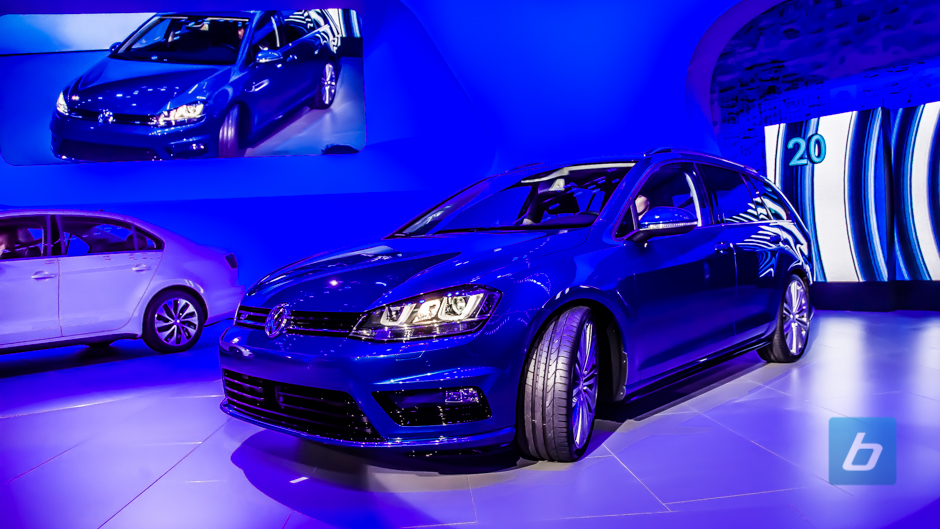 VW at the 2014 New York International Auto Show