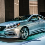 Hyundai Brings Two Green Sonatas To Detroit