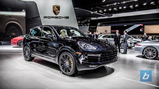 2016 porsche cayenne turbo s naias 2015 5 - Porsche Cayenne Turbo S 2015