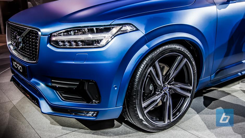 Volvo Brings Xc90 R Design To Detroit