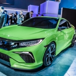 Honda Brings New Civic Concept to New York