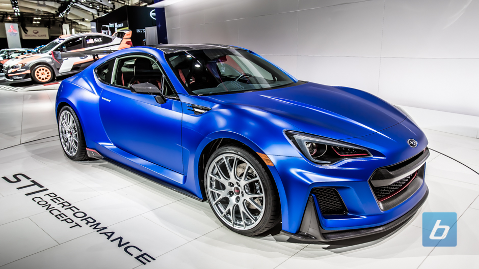... to Post - Subaru finally bringing a BRZ STI? Subaru BRZ STI Concept