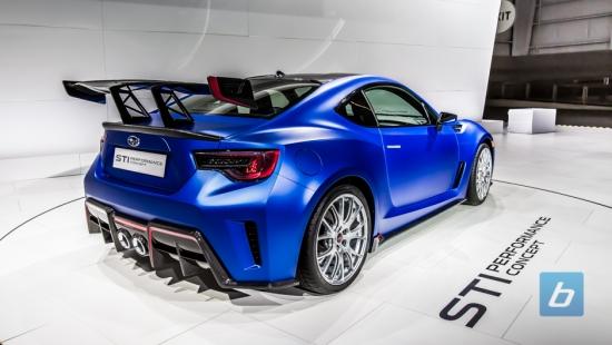 Subaru finally bringing a BRZ STI? Subaru BRZ STI Concept