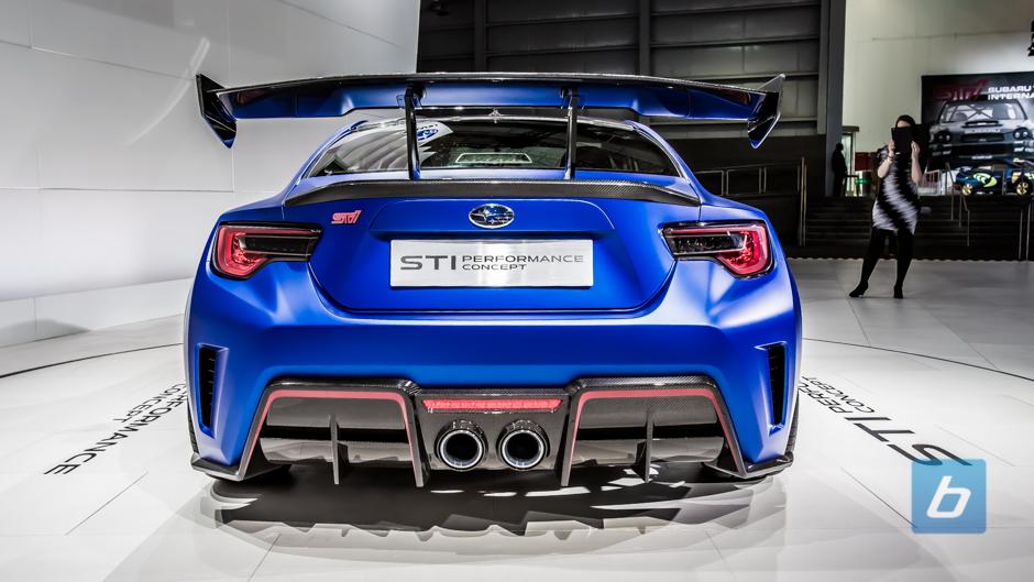 Performance Subaru BRZ STI Concept