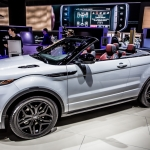 Range Rover Evoque Drops Its Top in LA