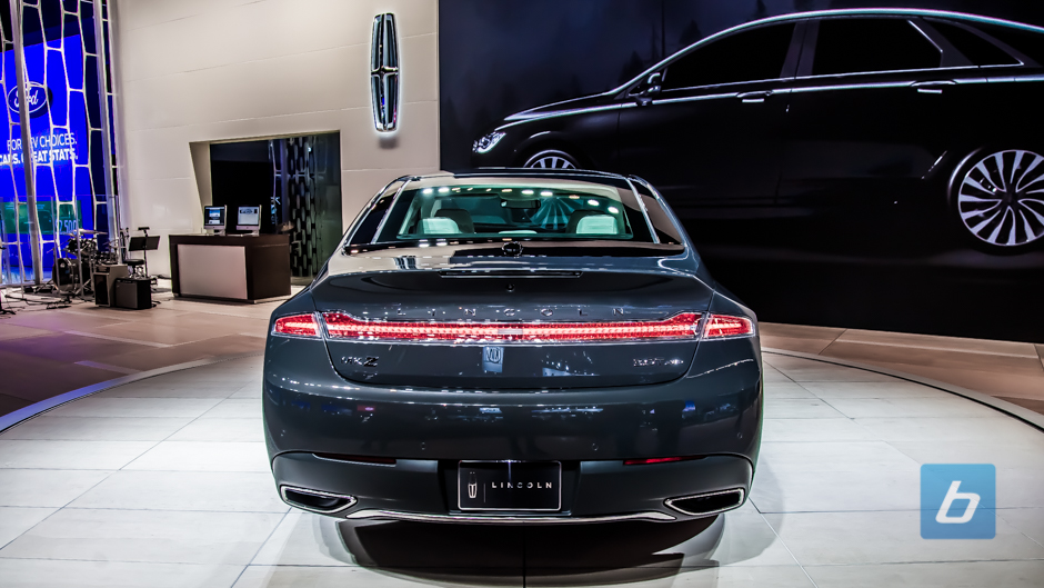 Back to Post - Lincoln Reveals the Face-lifted MKZ