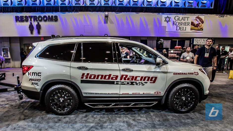 Back to Post - Honda Shows Off New 2017 Ridgeline at SEMA 2015 ...