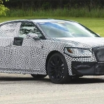 2017 Lincoln Continental Spied