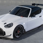 Toyota S-FR Flexes Muscles with Racing Concept