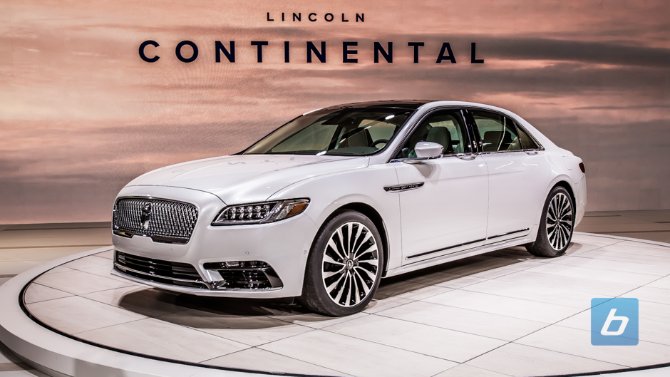 2017 lincoln continental 2016 naias 1. Black Bedroom Furniture Sets. Home Design Ideas