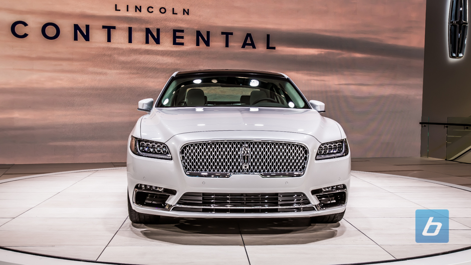 2017 lincoln continental 2016 naias 6. Black Bedroom Furniture Sets. Home Design Ideas