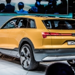 Audi H-Tron Quattro Shows Off Hydrogen Fuel Cell Technology Study